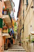 улица в риомаджоре, чинкве-терре, италия — Стоковое фото