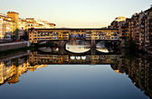 Ponte Vecchio in Florence, Italy — Stock Photo