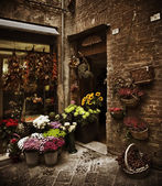 Flower Shop, Italy — Stockfoto