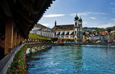 Lucerne, Switzerland. — Stockfoto