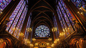 Sainte-Chapelle Chapel in Paris, France. — Stockfoto