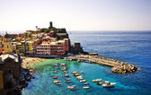Vernazza town in Cinque Terre, Italy. — Stock Photo
