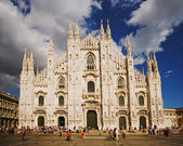 Milan Cathedral, Italy — Stockfoto