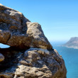 View at Cape Point from Table Mountain — Stock Photo #22144237