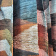 Stock Photo: Leather hand-made rugs