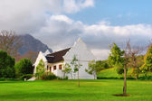 Traditional Cape Dutch house after rain — Stock Photo