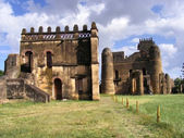 Alem-Seghed Fasil's castle in Ethiopia — Stock Photo