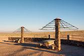 Punto di picnic nel deserto — Foto Stock