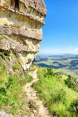 Sphinx rock from aside — Stock Photo