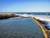 The Salt Rock tidal pool — Stock Photo