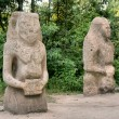 Ancient pagan idols — Stock Photo