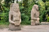 Древние языческие идолы — Стоковое фото