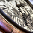 Arrows of old vintage clocks — Foto Stock