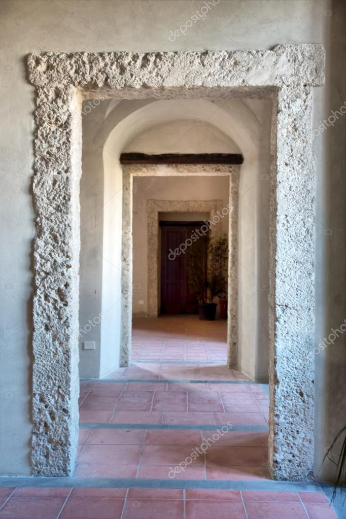 Perspective of doors in old castle \u2014 Stock Photo #32413321 & Perspective of doors in old castle \u2014 Stock Photo © photosky #32413321 Pezcame.Com