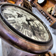 Stock Photo: Vintage clocks - close-up.