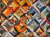 Fragmento de alfombras tradicionales tonos cálidos — Foto de Stock
