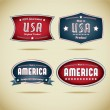 Made in Usa Collection — Stock Vector #19881629