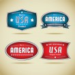Made in Usa Collection — Stock Vector #19881675