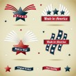made in usa collection — Stock Vector