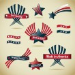Made in Usa Collection — Stock Vector #19881779