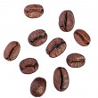 Coffee beans. Isolated on white background — Stock Photo #20147859