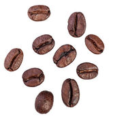 Coffee beans. Isolated on white background — 图库照片