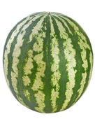 Watermelon isolated on white background — Stock Photo