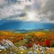 Autumn colors in crimean mountains — Stock Photo