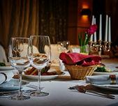 レストラン セット — ストック写真