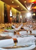 Restaurant set — Stock Photo
