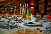 ресторан набор — Стоковое фото