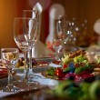 Restaurant set — Stockfoto #45430231