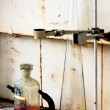 Стоковое фото: Laboratory interrior with test tubes