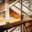 Foto de Stock  : Abstract industrial interior