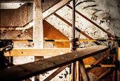 Interior industrial abstrata — Fotografia Stock