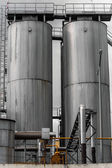 Agricultural silo outdoors — Stock Photo