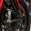 Stock Photo: Motorcycle wheel