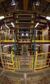 Interior do edifício industrial — Foto Stock