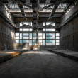 Large industrial interior — Stock Photo #33199823