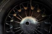 Photo of a jet engine — 图库照片
