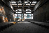 Grande industrial interior — Fotografia Stock