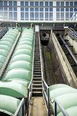 Parte de una instalación de lavado con agua — Foto de Stock