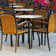 Outdoors scene at a restaurant — Foto de Stock