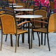 Outdoors scene at a restaurant — Stock fotografie