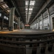 Large industrial interior — Foto Stock