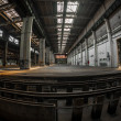 Large industrial interior — Foto de Stock