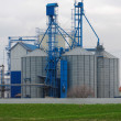 Argicultural silo  close up photo — Stockfoto