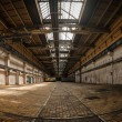 Large industrial interior  — Stock Photo