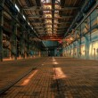Dark industrial interior  — Stock Photo