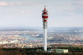 Large transmission tower — Stock Photo